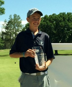 Congratulations to Johnny Tucker for his recent AJGA Preview Tournament Win (76-69=145)