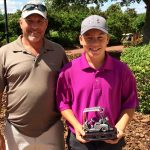 National Adult-Junior Championship Gross Champions; Terry and Jason Duff