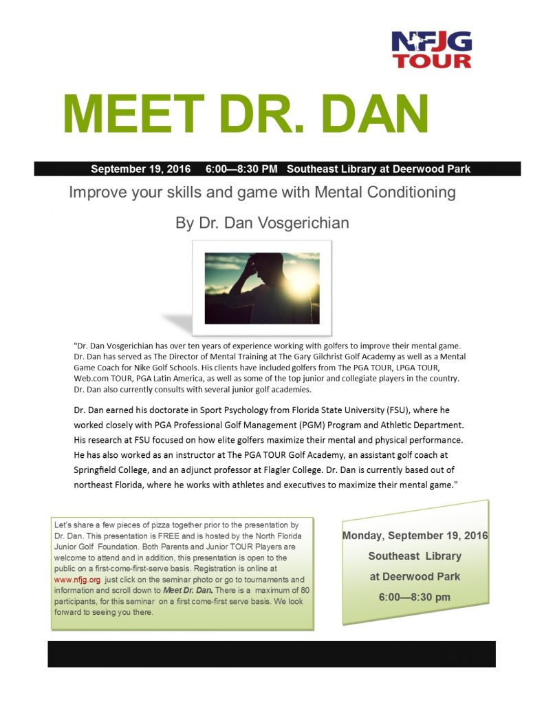 Mental Conditioning Flyer #2